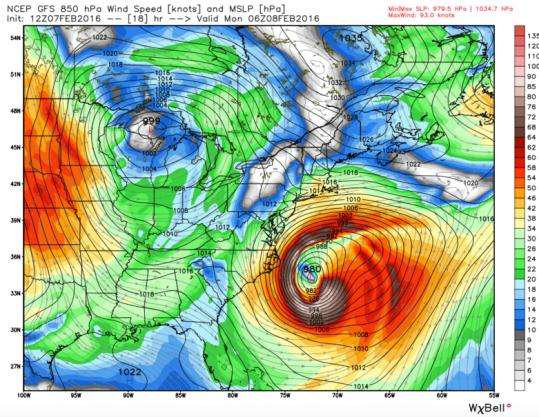 Image Courtesy of WeatherBell Analytics